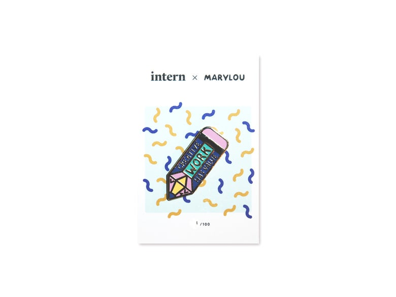 Image of Intern x Marylou Faure 'Value' Pin