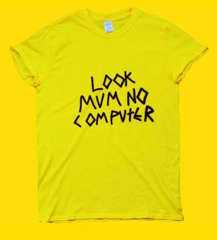 Image of LOOK MUM NO COMPUTER YELLOW