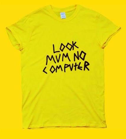Image of LOOK MUM NO COMPUTER YELLOW