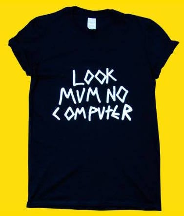 Image of LOOK MUM NO COMPUTER BLACK