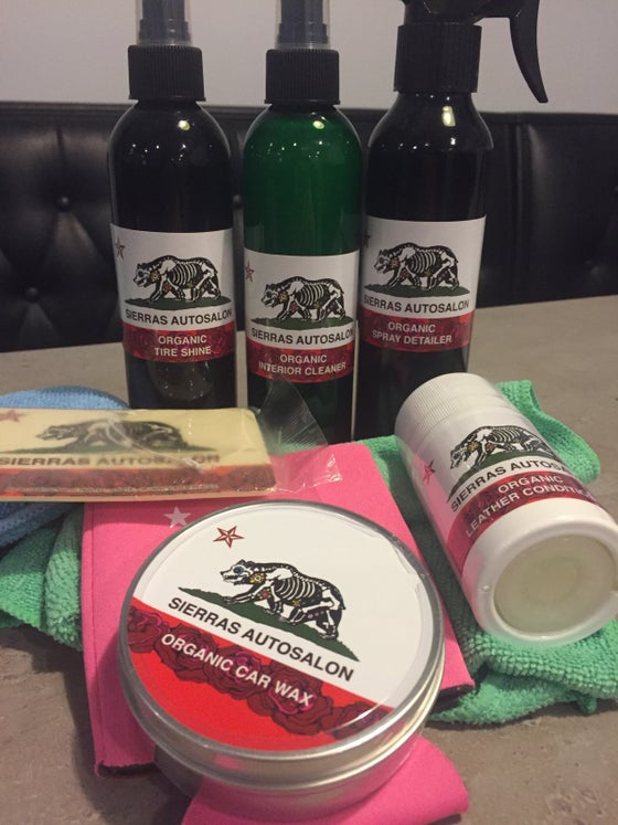 Image of Sierras Autosalon Complete Car Care Kit