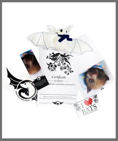 Image of Adopt a Baby Bat- Plushie Gift Pack