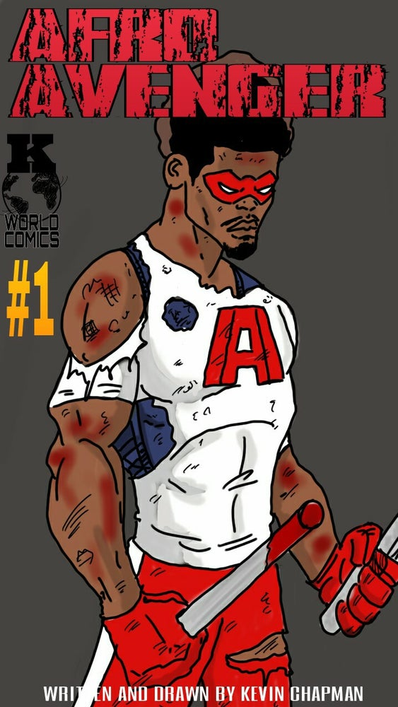 Image of Afro Avenger issue 1