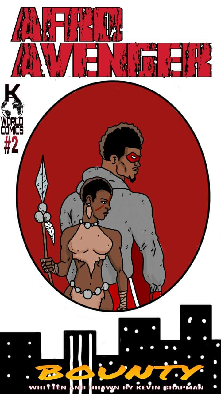 Image of Afro Avenger Issue 2