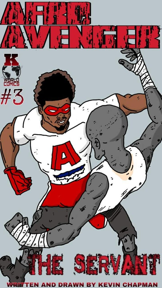 Image of Afro Avenger Issue 3