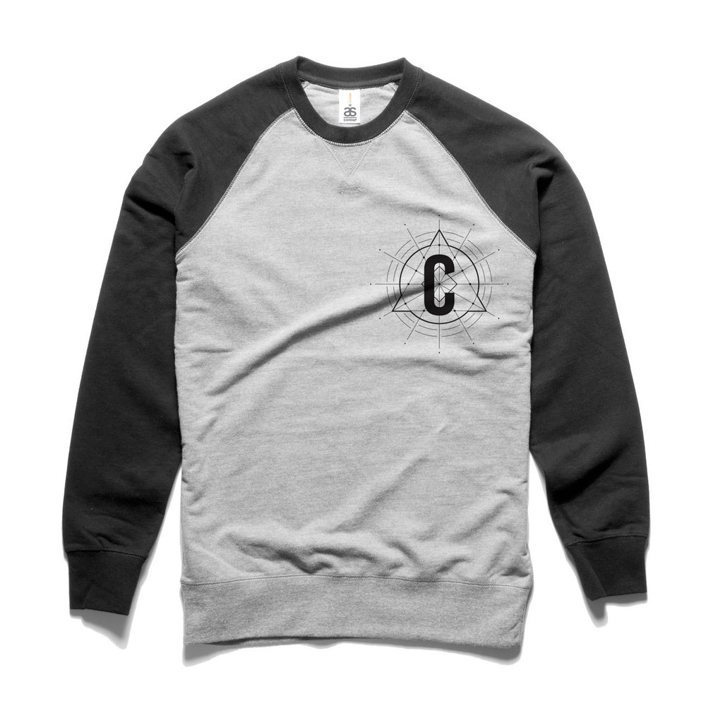 Image of C Logo Crew Neck Sweater