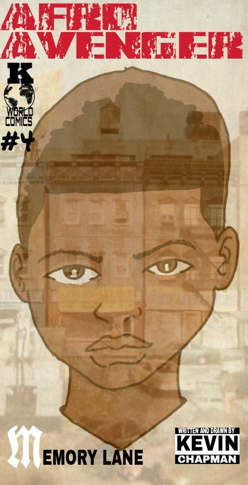 Image of Afro Avenger Issue 4