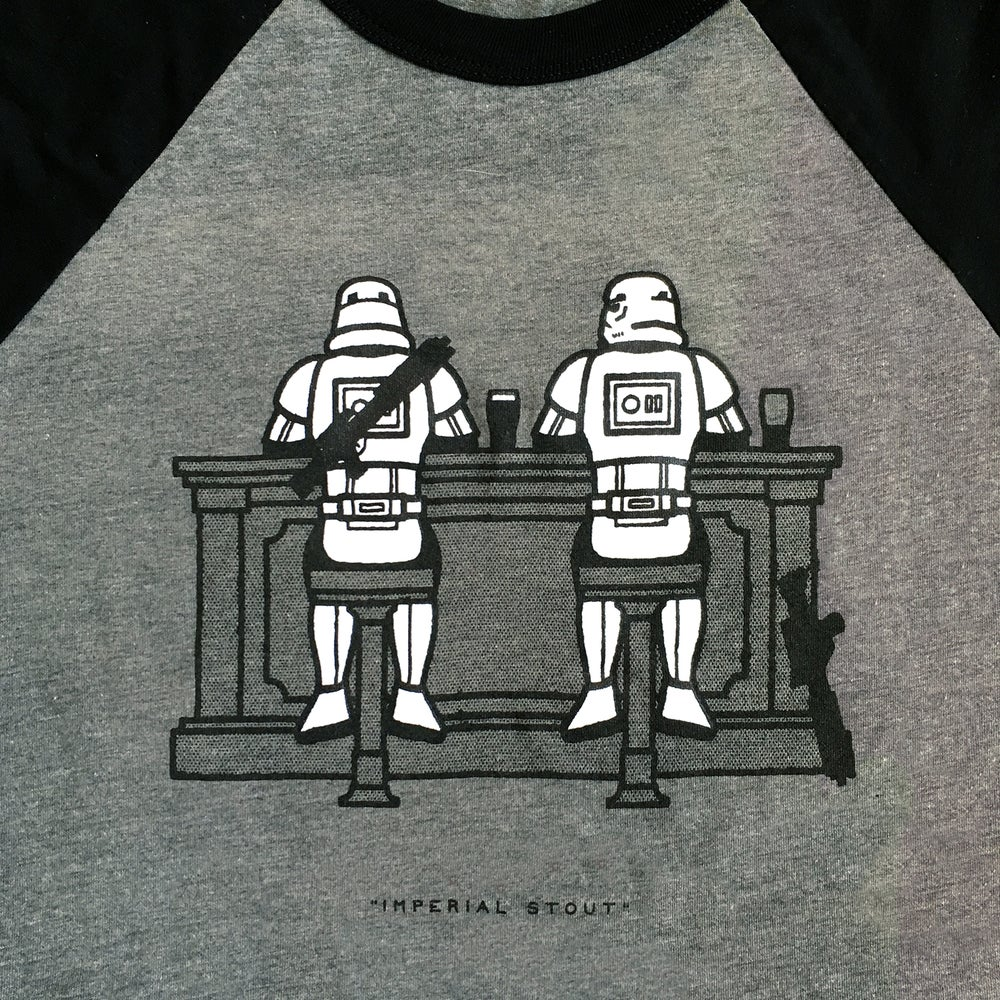 "Image of ""Imperial Stout"" Baseball Tee"