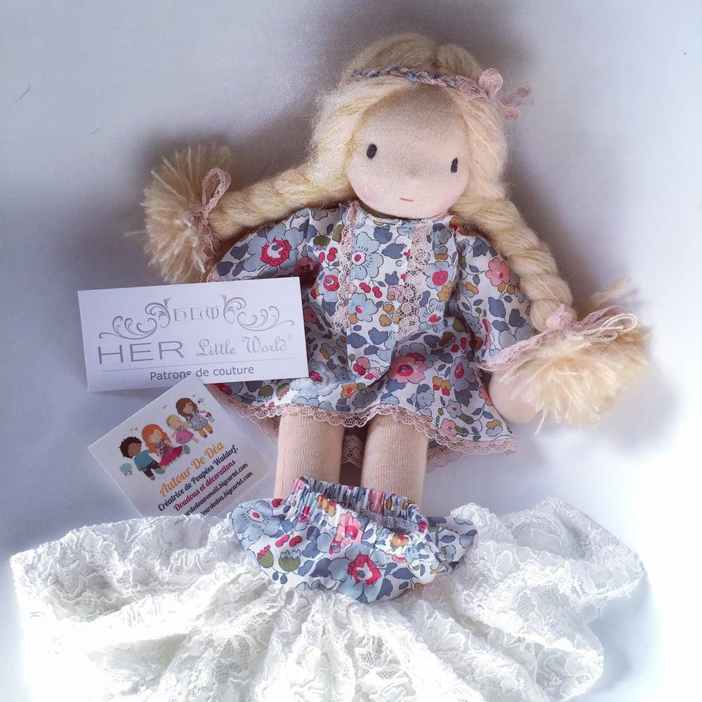 Image of Liv et sa robe festive esprit her little world
