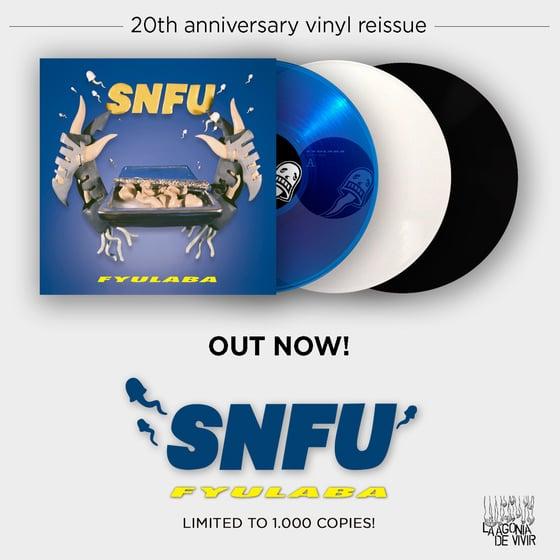 Image of LADV79 - SNFU fyulaba LP REISSUE