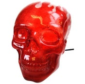 Image of Flaming Skull Light