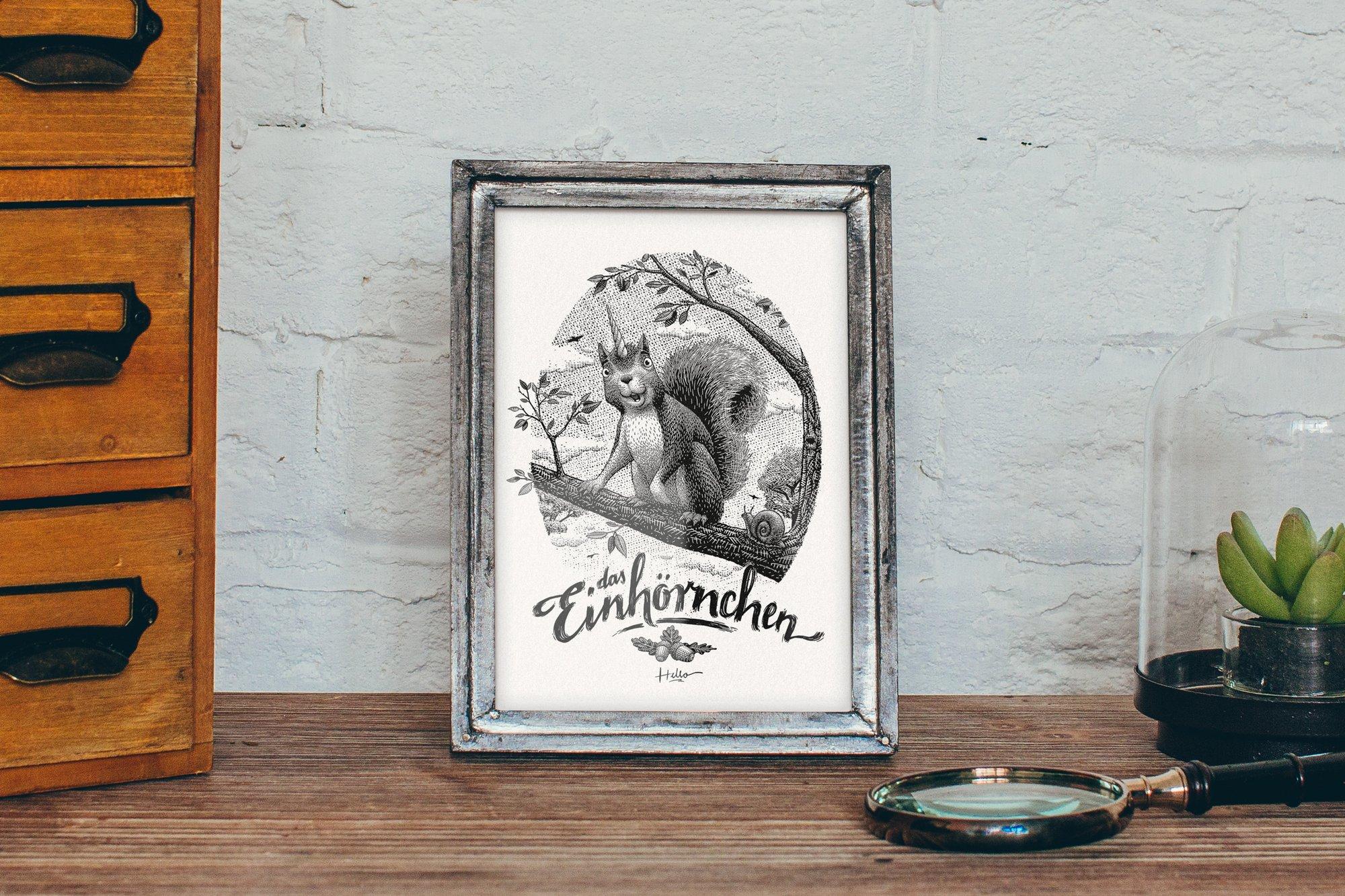 Image of Das Einhörnchen