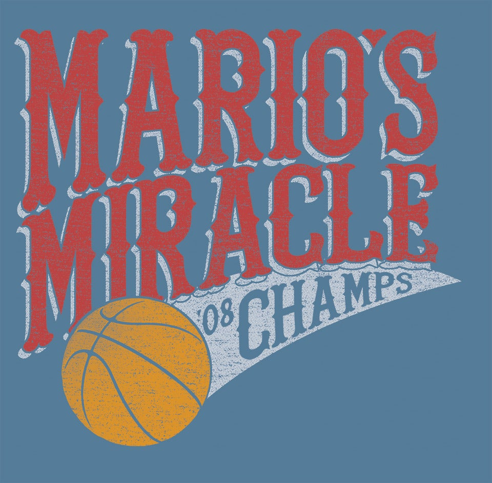 Image of Mario's Miracle shirt