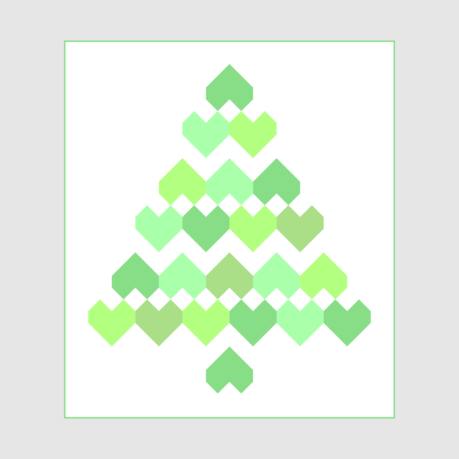 Christmas Hearts - Christmas Tree PDF Quilt Pattern | Hope\'s Quilt ...