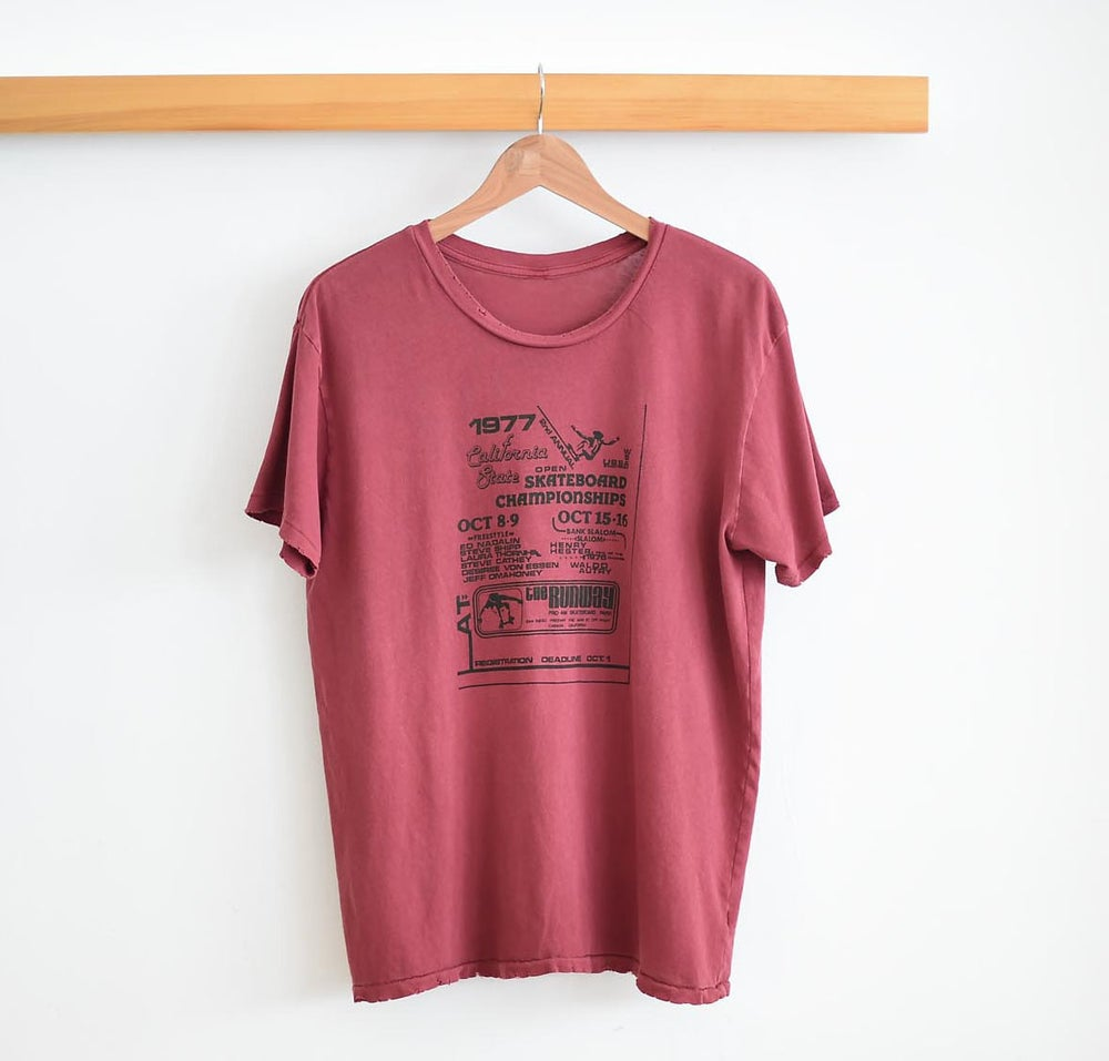 Image of The 1970's Skate Contest Tee is Back!