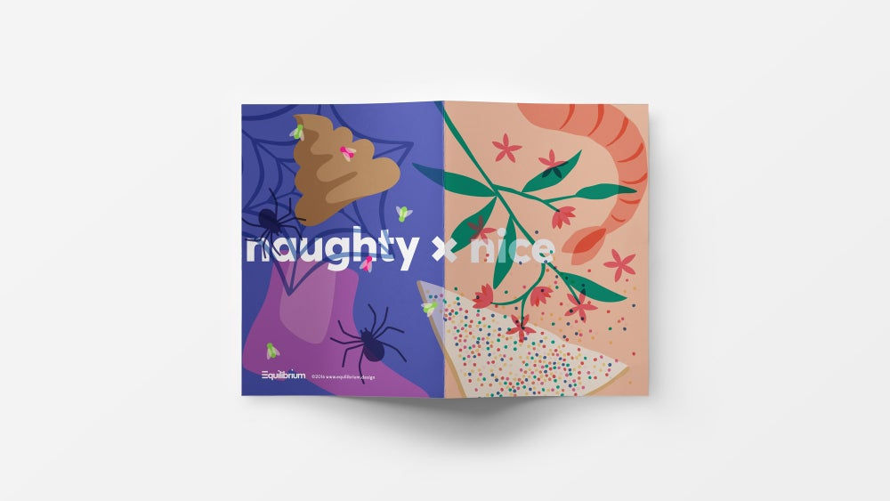 Image of Naughty x Nice: Christmas Cards