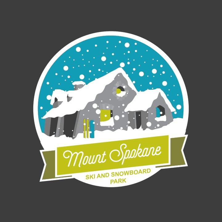 Vista House Snow Globe Print