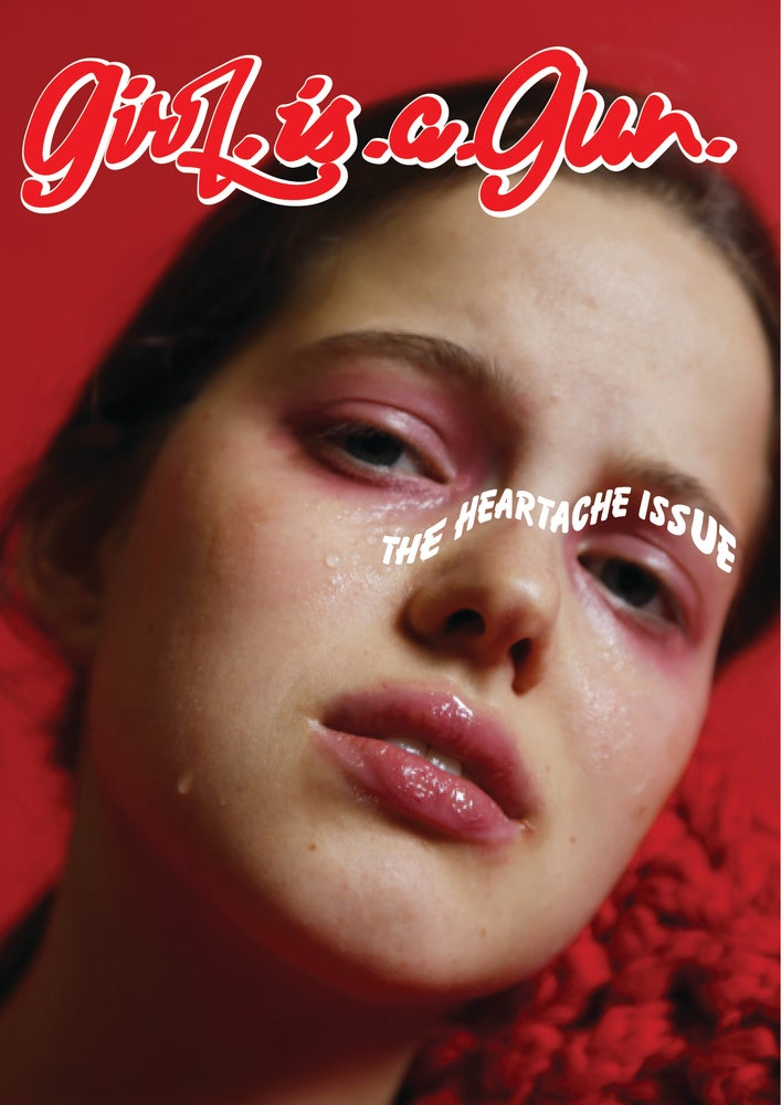"Image of GIRL.IS.A.GUN ""THE HEARTACHE ISSUE"" COVER 1 FIND US IN STORES :)"