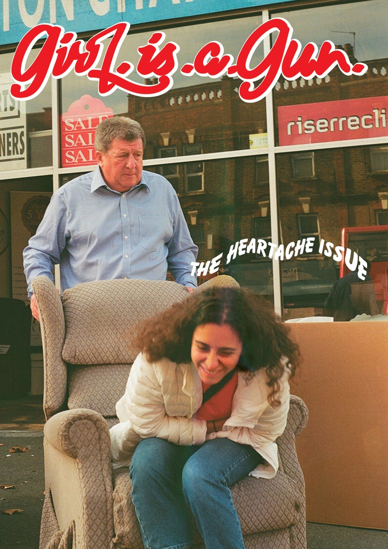 "Image of GIRL.IS.A.GUN ""THE HEARTACHE ISSUE"" COVER 2 FIND US IN STORES :)"