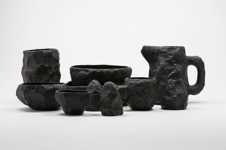 Image of Max Lamb - Posey Vase, Black