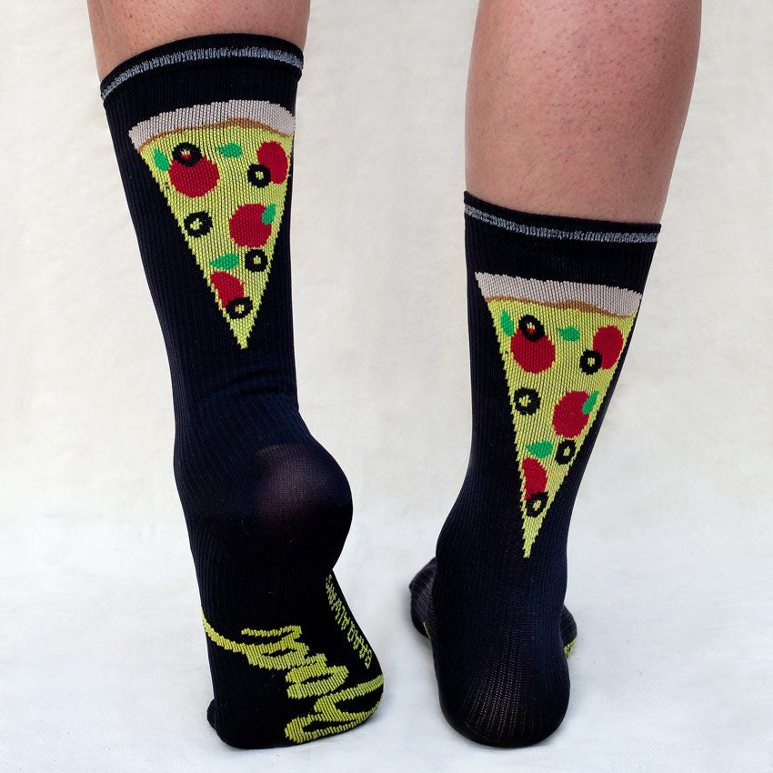 Image of Pizza in the Oven Reflective Performance Socks