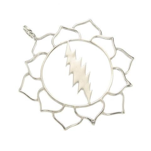 Image of Lotus Bolt in Sterling Silver