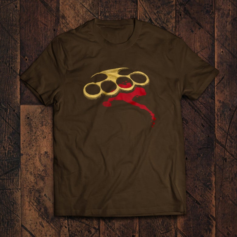Image of Knuckle Duster T-shirt ON SALE