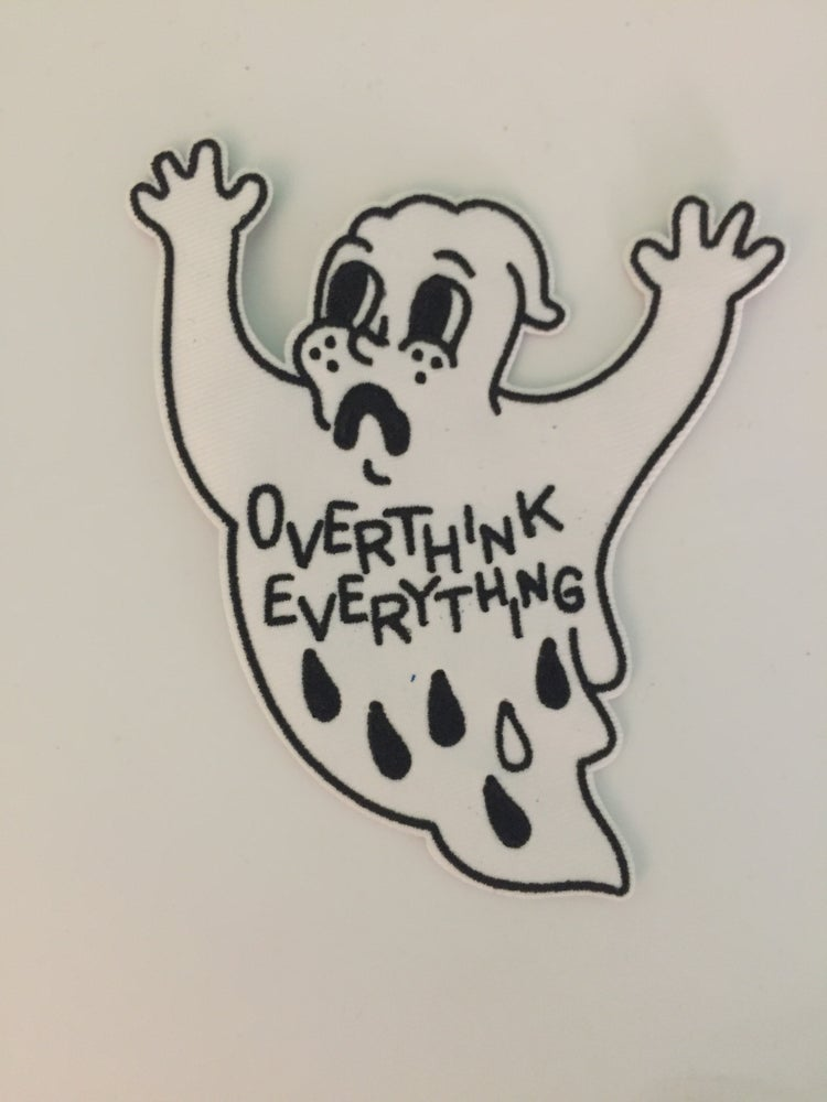 Image of Anxiety ghost patch