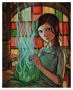 "Image of ""Blue Flame"" Limited Edition Print"