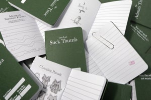 Image of Suck Thumb Notebook
