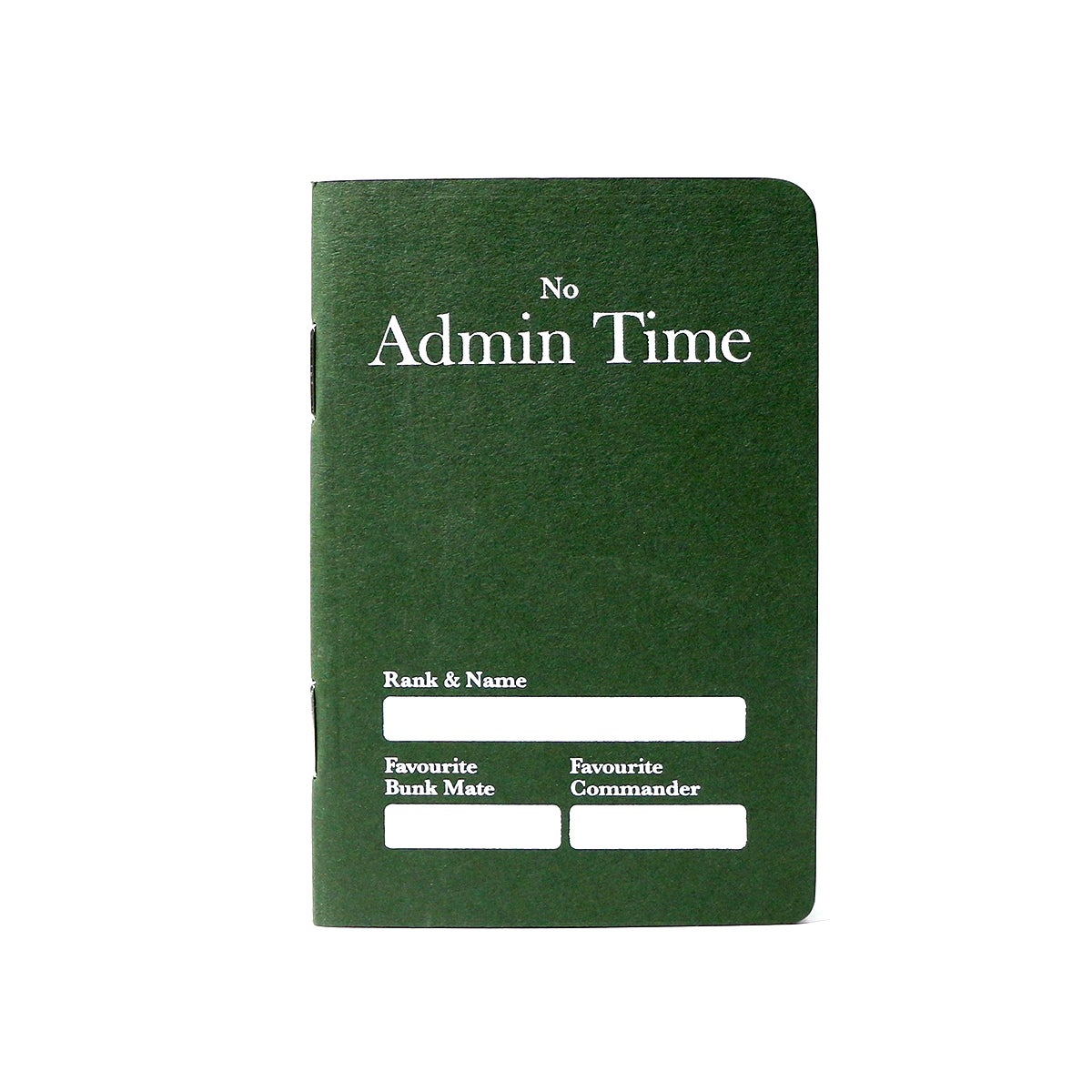 Image of Admin Time Notebook
