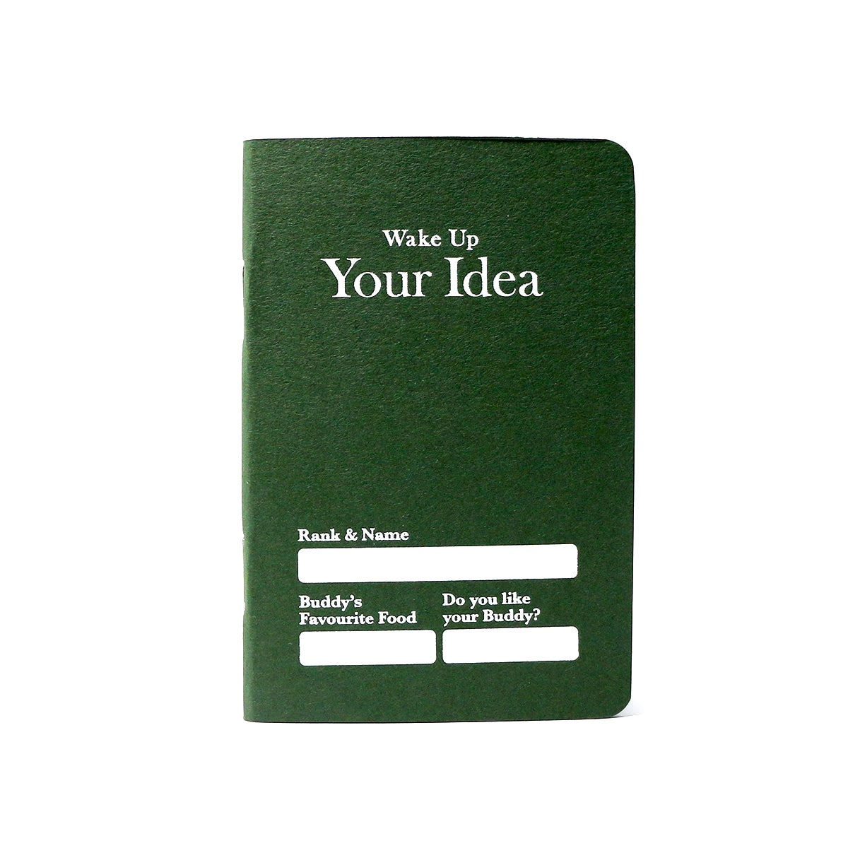Image of Your Idea Notebook