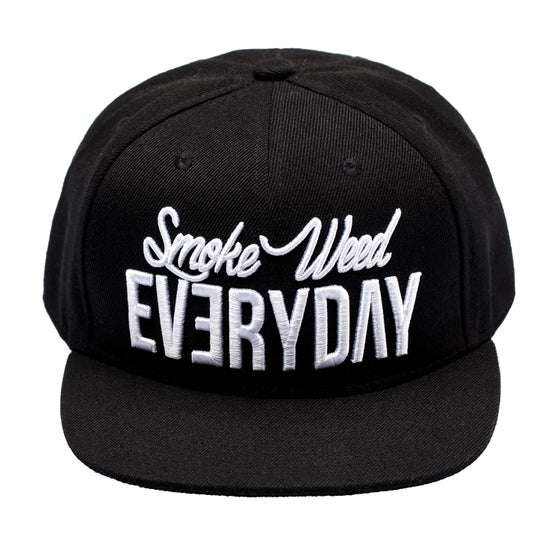 "Image of Snapback ""Spécial"" - Smoke Weed Everyday"