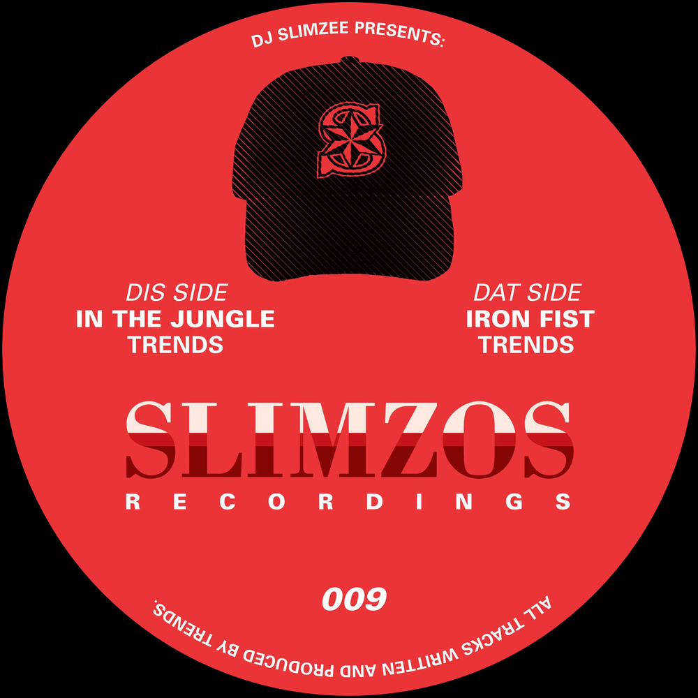 "Image of Slimzos 009 12"" Vinyl Trends - In The Jungle / Iron Fist"