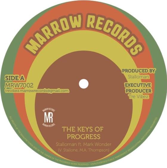 Image of Stalloman ft. Mark Wonder - Keys of Progress