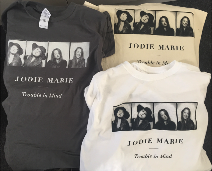 Image of TROUBLE IN MIND - JODIE MARIE TSHIRT