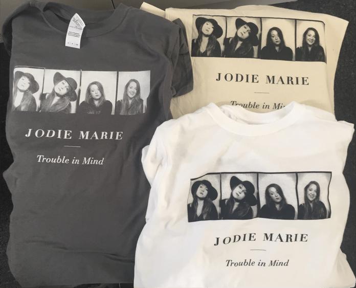 Image of TROUBLE IN MIND - JODIE MARIE TSHIRT