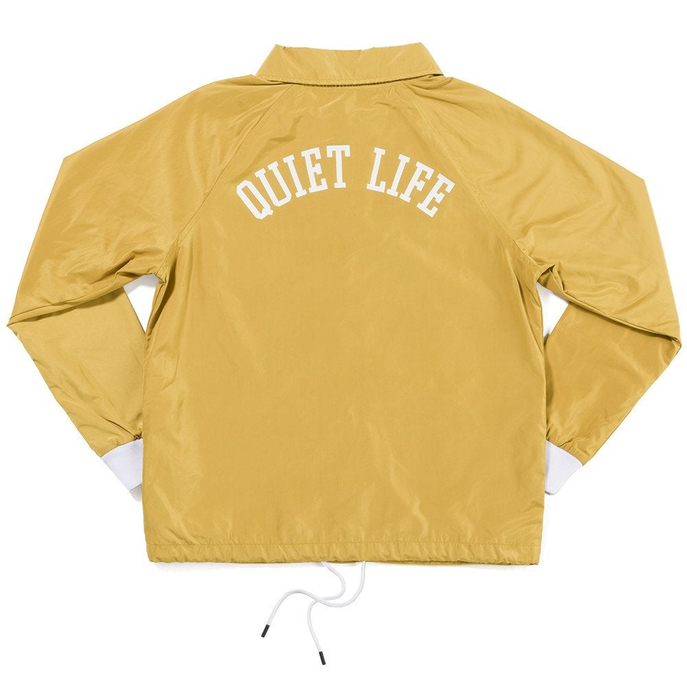 Image of QUIET LIFE SMOKING GIRL JACKET GLD