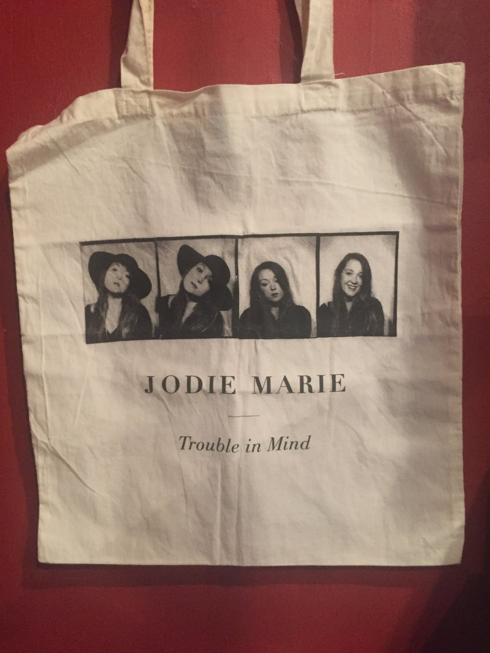 Image of TROUBLE IN MIND - JODIE MARIE TOTE BAG