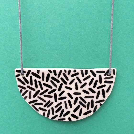 Image of Slab Necklace - Dash