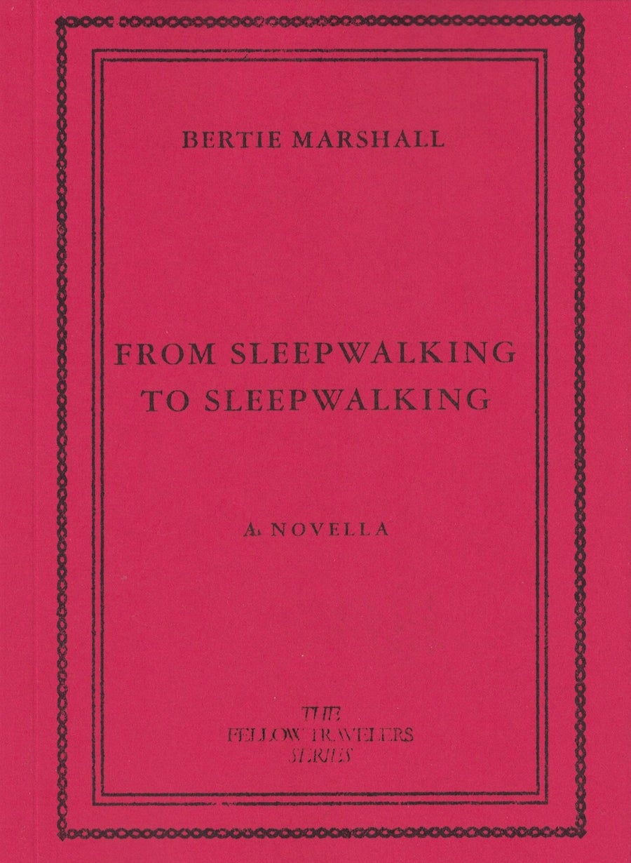 Image of From Sleepwalking to Sleepwalking by Bertie Marshall