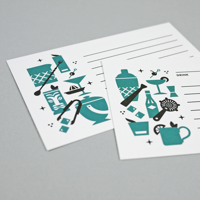 Image of Recipe & Cocktail Card Set