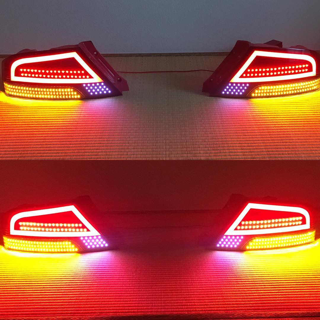 P Luxe Gt Tail Lights Mitsubishi Ct9a Lancer Evolution 8 9