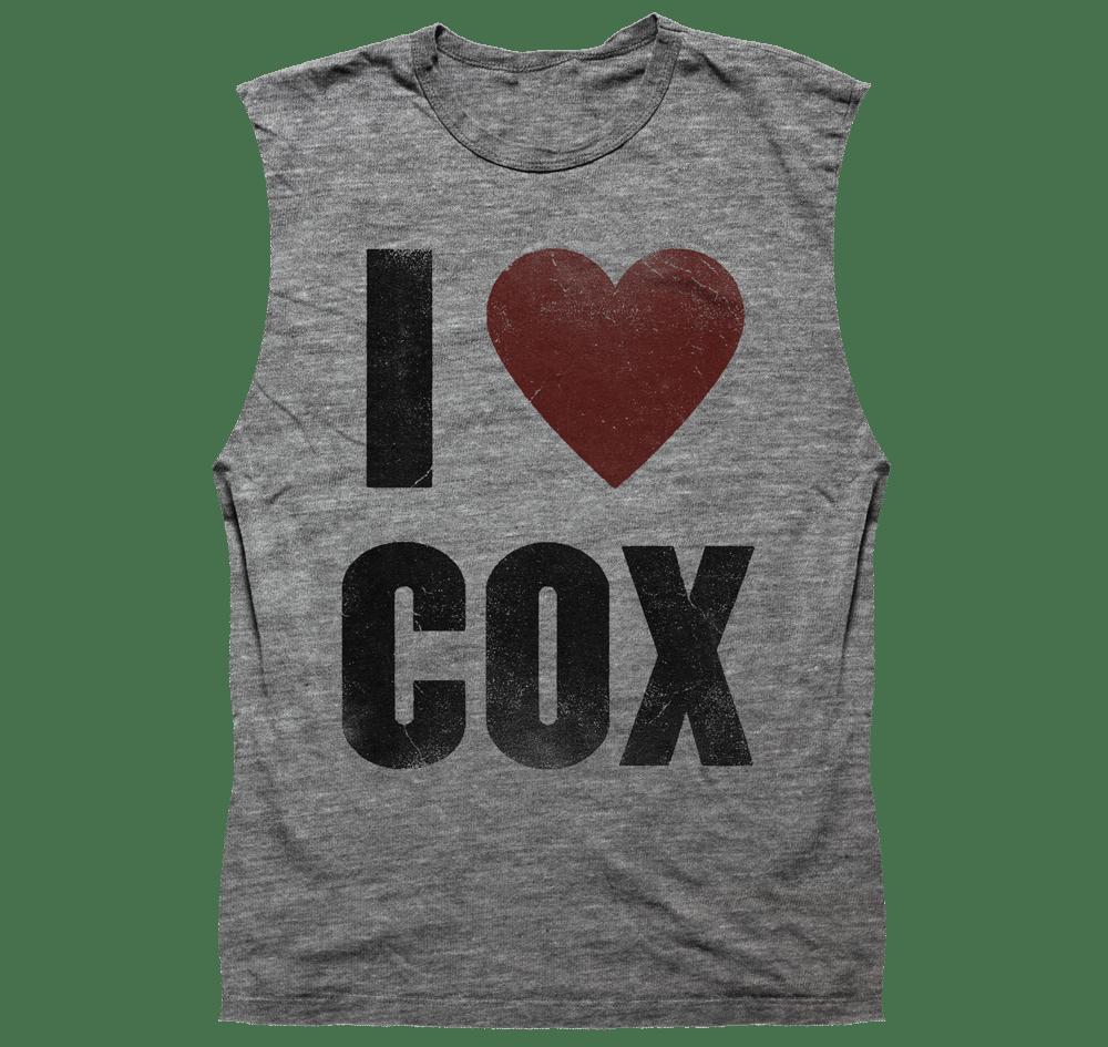 Image of I Heart Cox - Sleeveless Heather