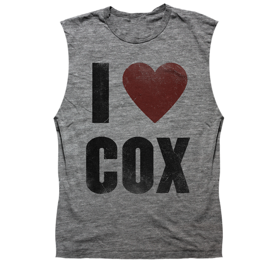 Image of I Heart Cox - Sleeveless Heather