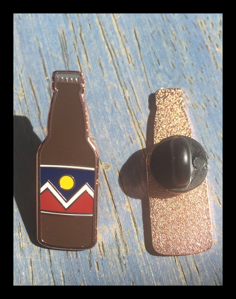 Image of Denver Beer PIn