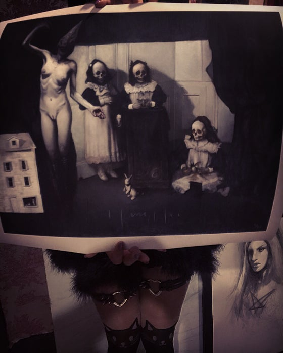 """Image of 'LACRIMOSA' - 17 x 19"""" - Limited Edition Museum Archival Print"""