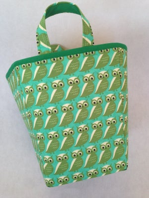 Image of 'Owls' Box Bag