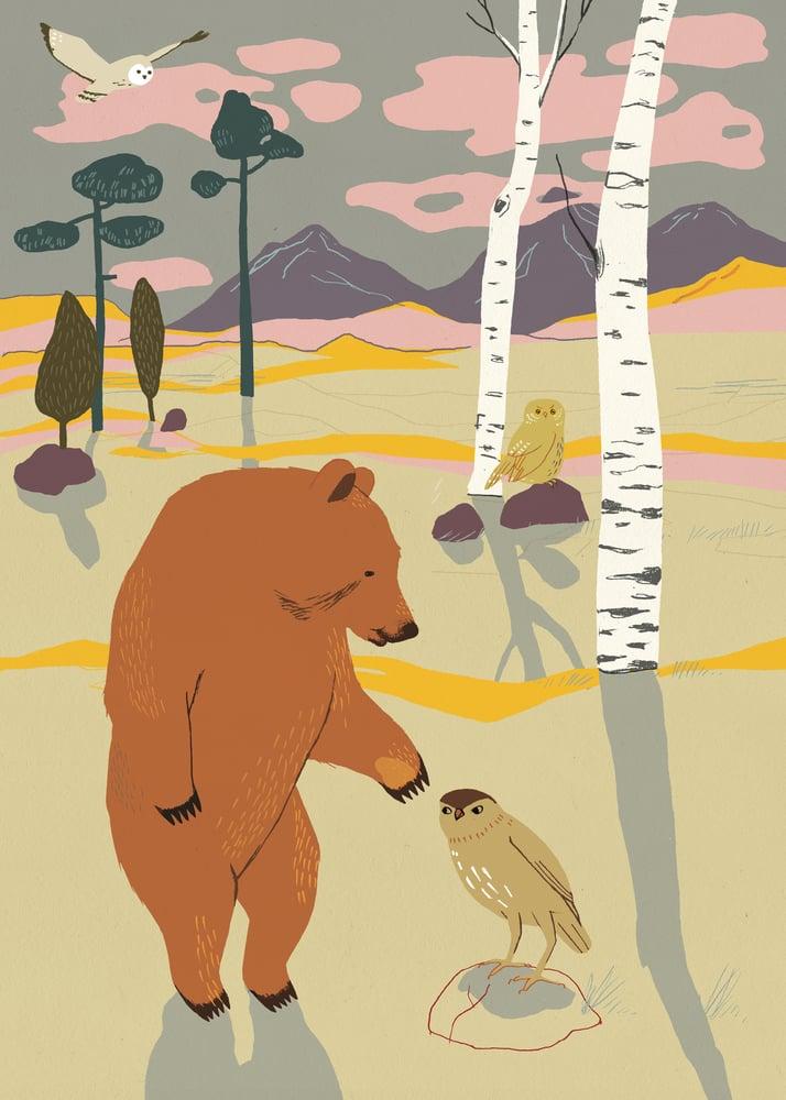 Image of Forrest poster - Bear