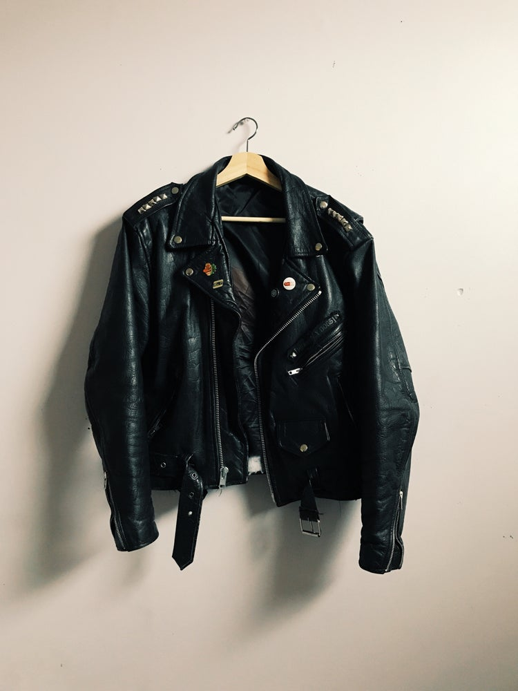 Image of MGS Leather jacket